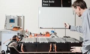 A123 Systems Tech Assembling a Battery - Better Times