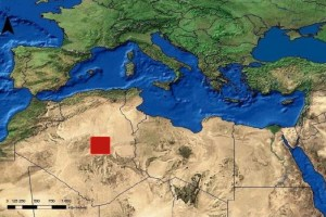 German Aerospace Engineering estaimate of North African Solar Plant Area Required for WORLD Electricity Needs