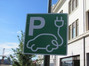 Electric Vehicle Parking Only