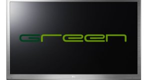 LG Flat-Panel Television - Green