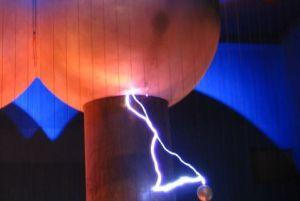 Static Discharge from a Van de Graaf Generator