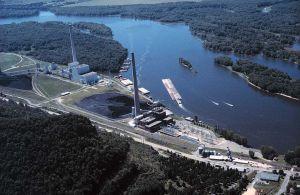 Coal Burning Plant in Alma Wisconsin
