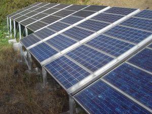 Small Solar Installation in France