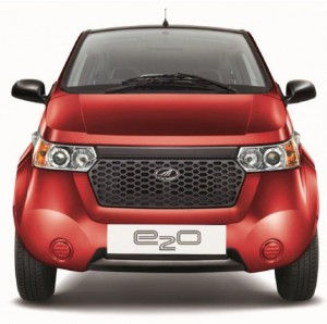 The New Mahindra e2o Electric Vehicle