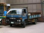 Old Toyota DYna Diesel Powered Truck in China