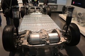 Tesla Model S Platform with over 7,000 Lithium-Ion Rechargeable Cells
