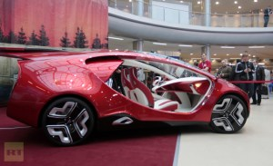 Yo-Avto Yo-Mobil Russia's First Hybrid Vehicle Concept