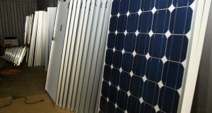 Solar Panels Ready to be Installed on a Rooftop Near You