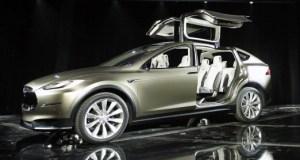 Tesla Model X Shown at Geneva Motor Show 2012