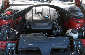 BMW i3 Engine Being Tested in a 1 Series, Space Usually Reserved for a 3.0ℓ i6