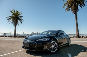 Tesla Model S for rent