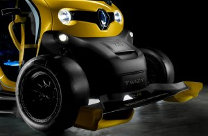 The Renault Twizy F1 - Microsized EV with F1-ish Performance and Looks