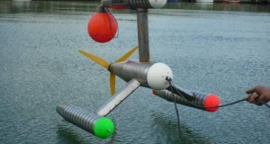 New Ocean Current Turbine Works Deeper, is Smaller and Cheaper than Current Designs