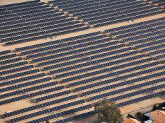 Solar Panel Farm in Italy
