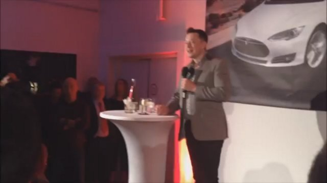 Elon Musk mentions some upcoming developments in the Tesla Motors