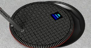 HEVO Power Electric Vehicle Charging Station Disguised as a Manhole Cover