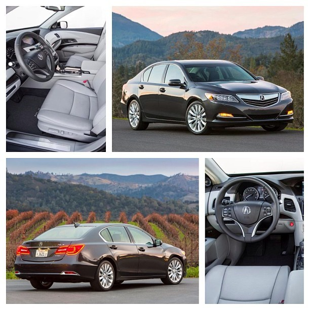 Green Car Technology of the Year Nominee - Acura RLX SH-AWD Powertrain