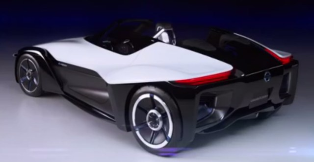 Nissan BladeGlider Supercar Electric Vehicle