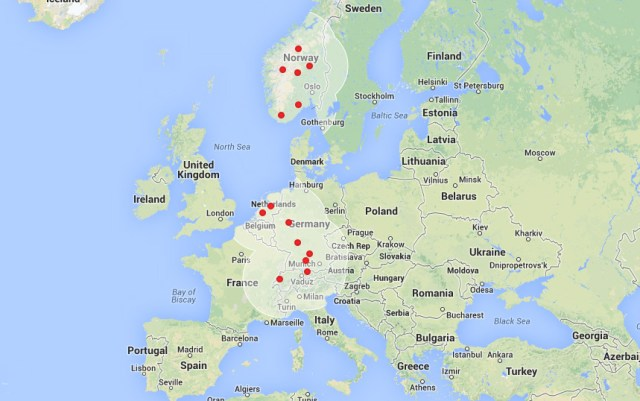 Tesla Superchargers Just Getting Started in Europe