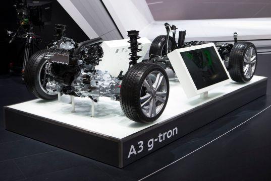 Audi A3 G-Tron Dual-Fuel Vehicle