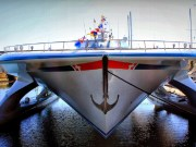 MS Türanor PlanetSolar solar-powered boat getting ready for 2014 expedition