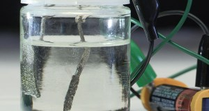 hydrogen fuel generator, via electrolysis, is as efficient as platinum, but at a fraction of the cost.