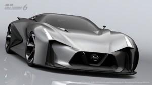 Nissan GTR Vision 2020 Design Study in Gran Turismo 6