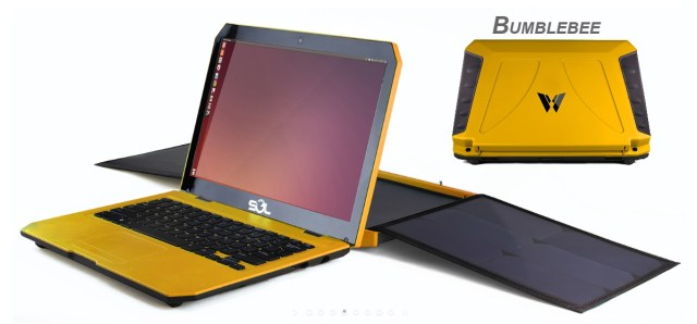 SOL Solar Power Laptop Requires No Fossil-Fuel Plug!