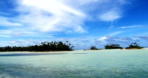 """The nation of Kiribati, made up of 33 islands and atolls, recently bought """"agricultural parcels"""" on nearby Fiji, which is Gilbertese for """"climate change refugee camp,"""" I guess."""