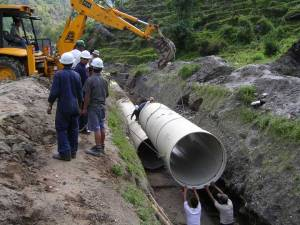 Sunkoshi-GRP-Pipe-Laying-Works
