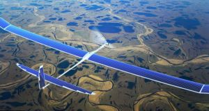 Solar powered drone