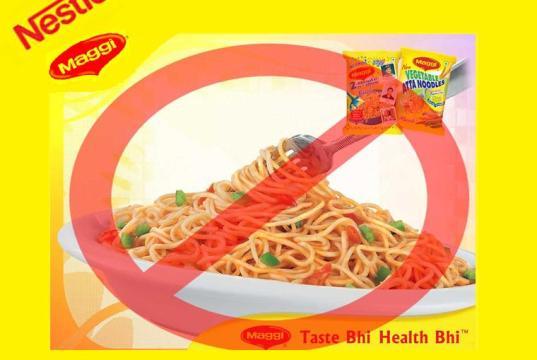 Nestle Maggi Bannedin India