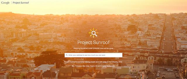 Pro Sunroof Google