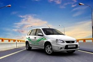 The Russian AutoVAZ El Lada.
