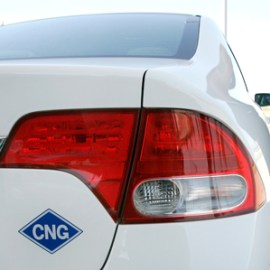 CNG vehicle