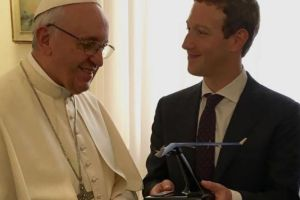 solar powered drone to Pope from facebook CEO