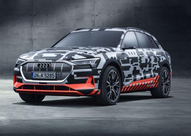 Audi E-Tron Crossover