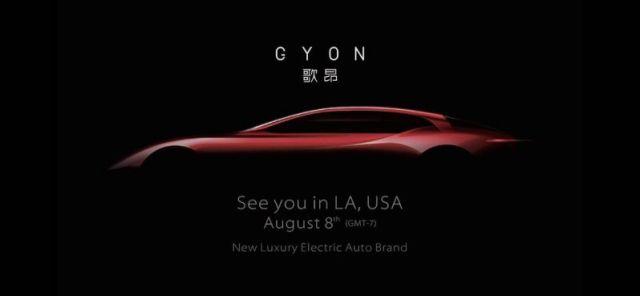 Gyon Chinese Electric Car
