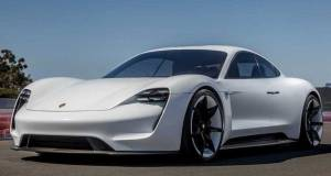 Electric Sport Car Porsche Taycan