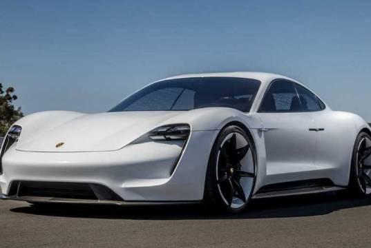 Electric Sport Car Porsche Taycan