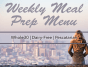 """pescatarian-dairy-free-whole30-meal-prep-menu"""