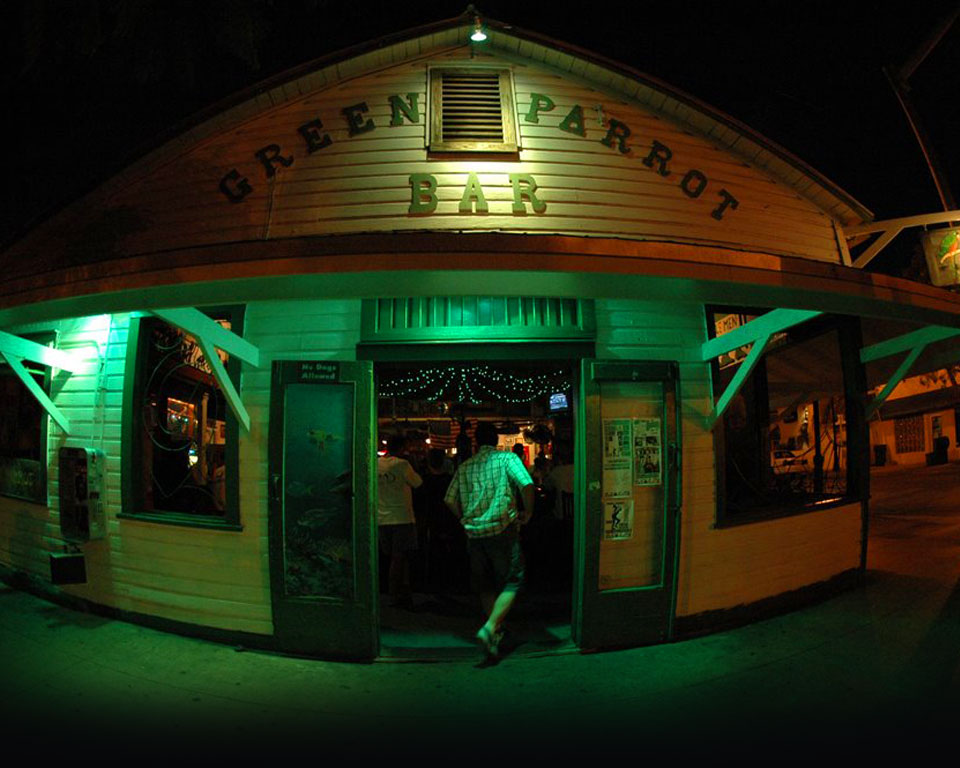 Key West Taverns History Of Green Parrot Bar