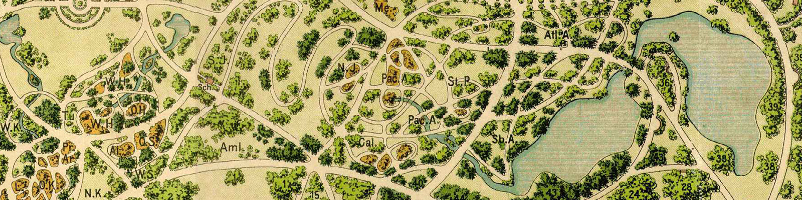 Green Parrot Gardens | Our Heritage | Traditional Garden Plan