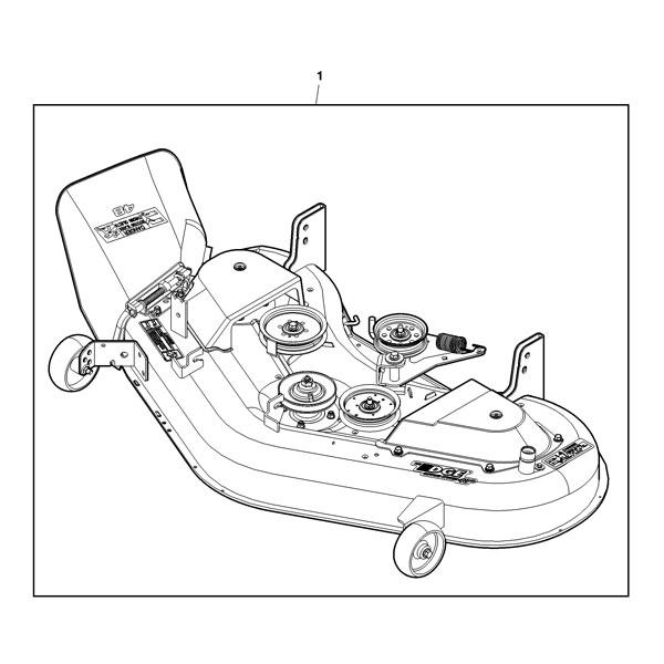 John Deere Mower Blade 42 Inch Deck L100 L108 L110 L111