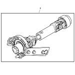 John Deere Model 1025R Compact Utility Tractor Parts