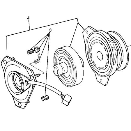 John Deere Electromagnetic PTO Clutch Assembly (Some