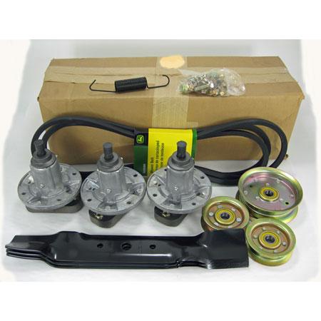 l130 mower deck belt diagram house electrical wiring symbols john deere 48-inch rebuild kit (years 2002 thru 2004) - gy20996