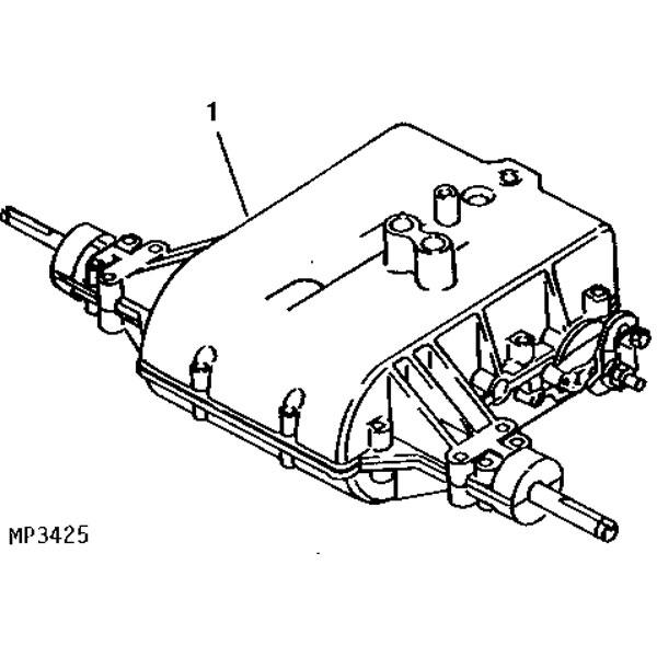 John Deere Complete Transaxle- MIA10320