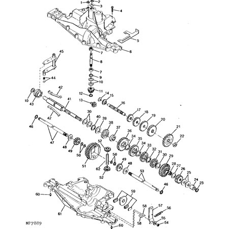 John Deere 2210 Transmission Diagram, John, Free Engine