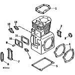 John Deere Model 214 Lawn and Garden Tractor Parts